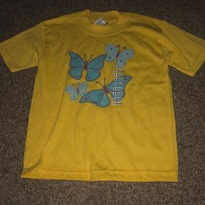 NWS Butterfly yellow shirt